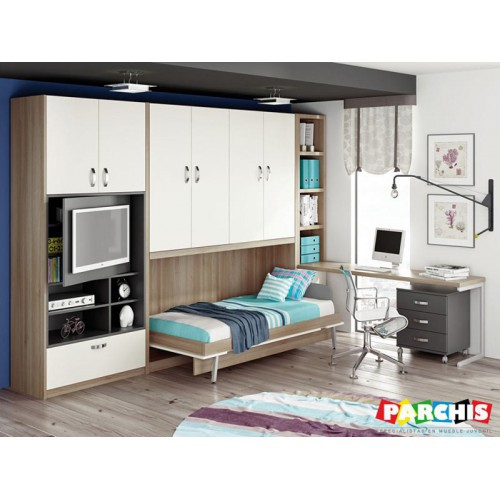Cama Abatible Horizontal Carriches