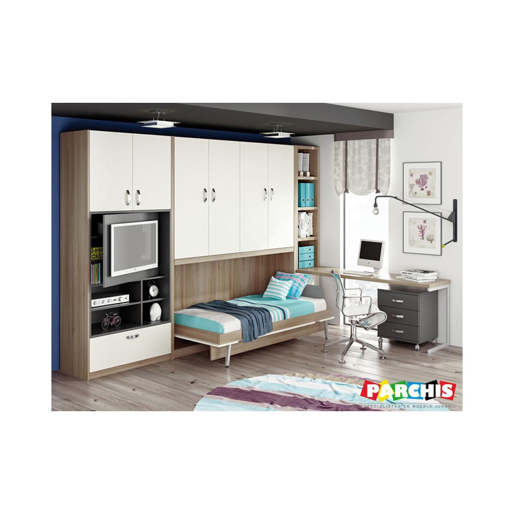 Cama abatible horizontal carriches camas abatibles - Sistema cama abatible ...