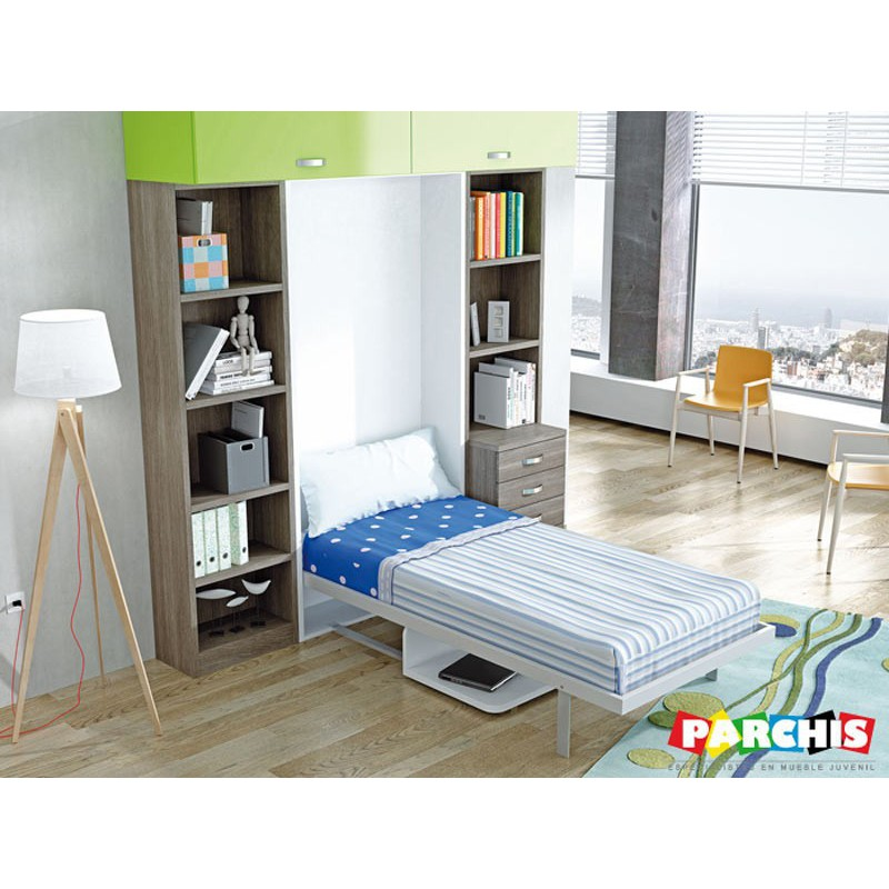 Cama Abatible Vertical Nieves
