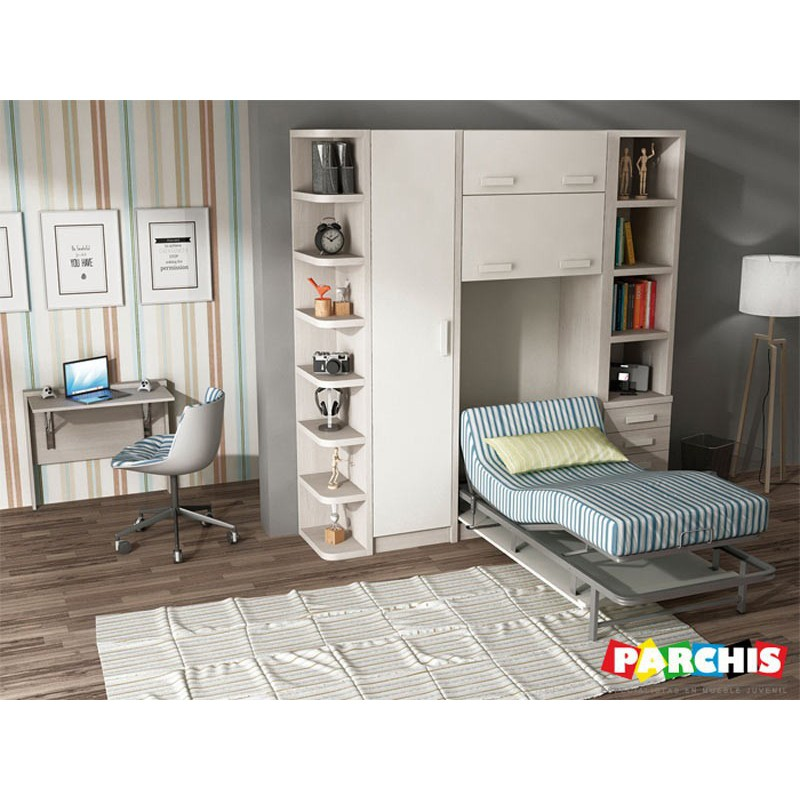 Cama Abatible Vertical Ocana
