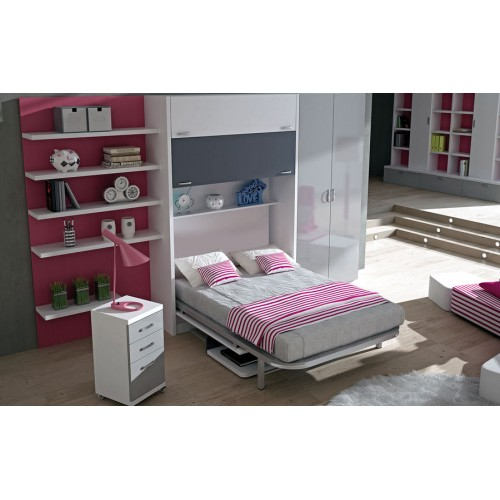 Cama Abatible Vertical Huecas