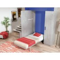 Cama Abatible Vertical Lillo