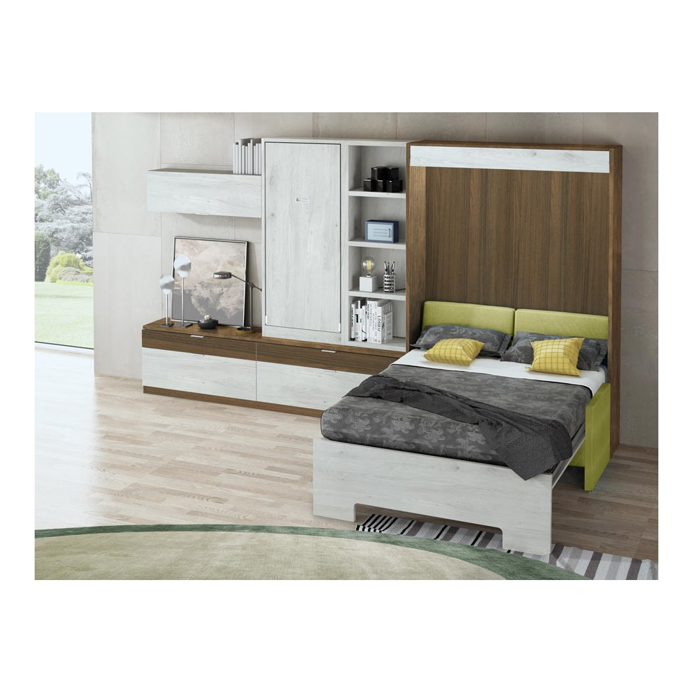 Como hacer una cama abatible horizontal cama abatible for Amazing camas abatibles